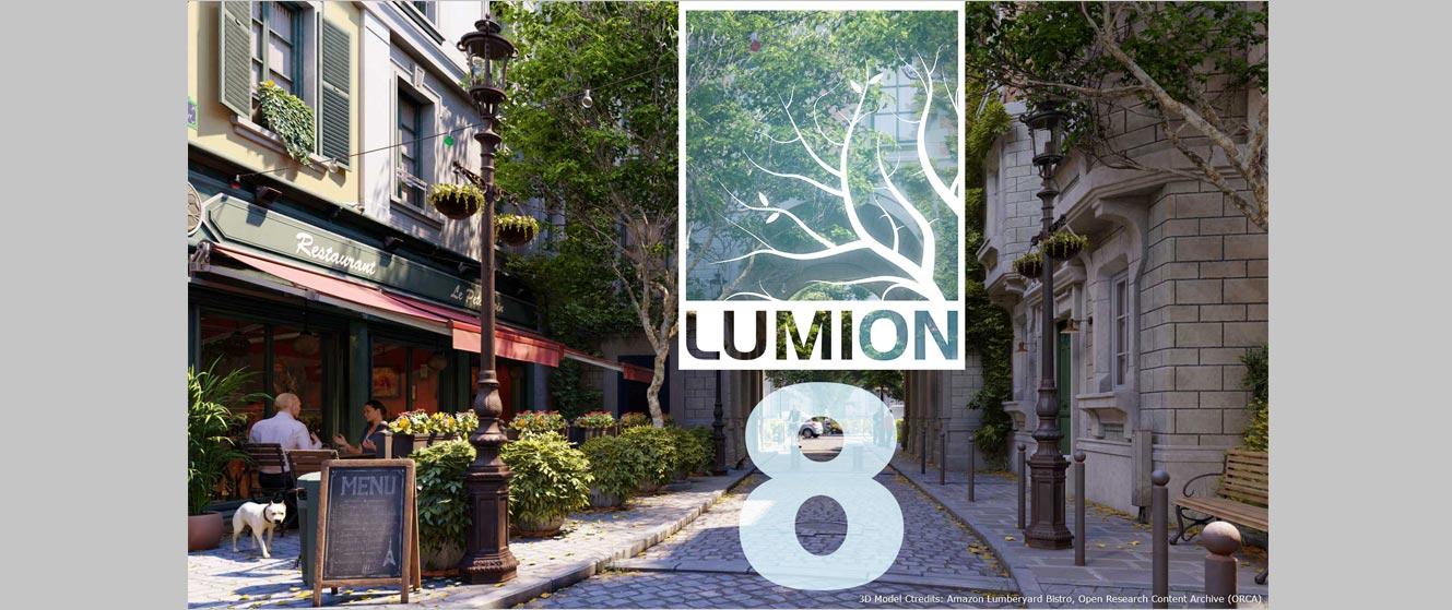 لومیون 8 (نقد و بررسی ) Lumion8