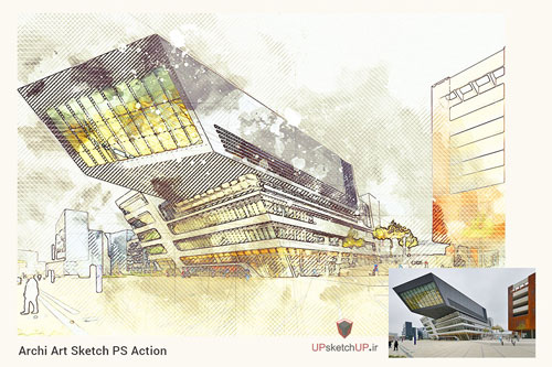 Archi Art Sketch PS Action